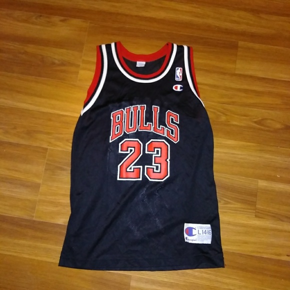 buy popular 4613a 2e12b Champion Michael Jordan Jersey